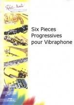 Cadee J.l. - Six Pieces Progressives Pour Vibraphone
