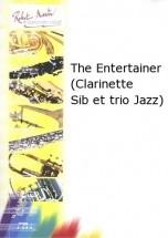 Joplin S. - Defaye J.m. - The Entertainer (clarinette Sib Et Trio Jazz)