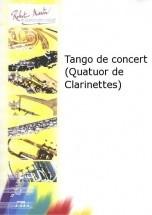 Querat M. - Tango De Concert (quatuor De Clarinettes)