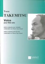 Takemitsu T. - Voice - Flute Solo