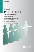 Poulenc F. - Un Soir De Neige - Choeur