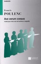 Poulenc F. - Ave Verum Corpus - Choeur