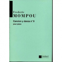 Mompou F. - Cancion Y Danza N. 9 - Piano