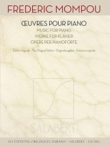 Mompou Frederic - Oeuvres Pour Piano