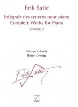 Satie Erik - Integrale Des Oeuvres Pour Piano Vol.2