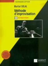 Solal Martial - Méthode D'improvisation Jazz Clavier Avec Cd