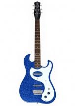 Danelectro Dano 63 Blue Metal Flakes Silgreenone 1457 Reissue