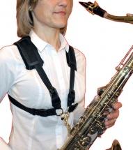 Bg Harnais Saxophone A/t/b Confort Femme