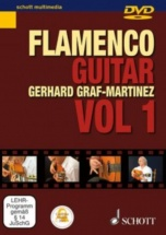 Graf-martinez Gerhard - Dvd Flamenco Guitar Method Vol. 1