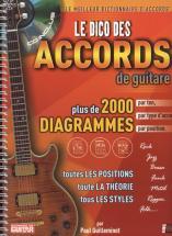 Dico Des 2000 Accords De Guitare + Cd