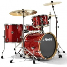 Sonor Bop Se Special Edition - 4 Futs Be Bop 18 Red Galaxy Sparkle