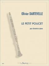Dartevelle Olivier - Le Petit Poucet - Clarinette and Piano