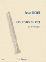 Proust Pascal - Couleurs Du Ciel - Clarinette & Piano
