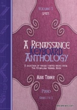 A Renaissance Keyboard Anthology. Vol. 1. Grades 1-3