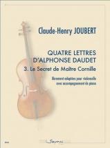 Joubert Claude-henry - Quatre Lettres D