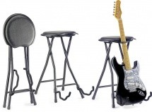 Stagg Gist-300 Tabouret Guitare + Stand Pliable