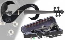 Stagg Set Violon Electrique Evn 4/4 Bk - Noir