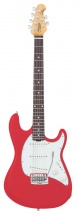 Sterling By Music Man Ct50 Fiesta Red + Housse