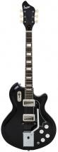 Supro Coronado Ii Vibrato Americana Guitar Jet Black