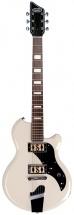 Supro Westbury Guitar Antique White