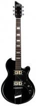 Supro Westbury Guitar Jet Black