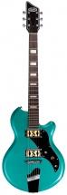 Supro Westbury Guitar Turquoise Metallic