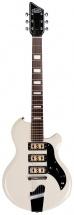 Supro Hampton Guitar Antique White