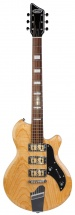 Supro Hampton Baritone Guitar Natural Ash