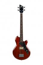 Supro Huntington 1 Bass W/piezo Natural Mahogany