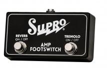 Supro Sf2 Footswitch Double Pour Tremolo Et Reverb