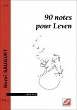 Sauguet H. - 90 Notes Pour Leven - Flute