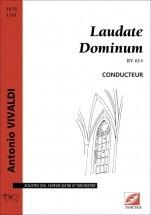 Vivaldi A. - Laudate Dominum. Rv 614 - Voix