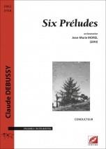 Debussy C. - Six Préludes - Orchestre
