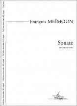 Meimoun F. - Sonate, Pour Deux Clarinettes - Clarinette