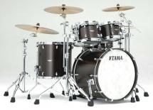 Tama Tw42rzs-wsbn - Star Walnut 4 Futs Sans Hardware 22/10/12/16 Satin Black Walnut