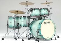 Tama Bg52zbns-ljb - Starclassic Bubinga 5 Futs 22/10/12/14/16 Sans Hardware Light Jade Burst