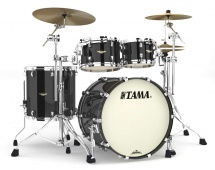 Tama Ma42tzs-pbk - Starclassic Maple 4 Futs Sans Accessoires - Piano Black