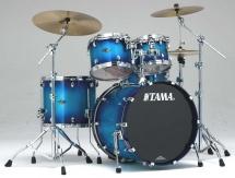 Tama Ps42s-twb - Starclassic Performer B/b 4 Futs 22/10/12/16 Sans Hardware Twilight Blue Burst