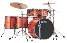 Tama Mk62hzbns-bos - Superstar Hyper-drive Maple 6 Futs Sans Accessoires - Bright Orange Sparkle