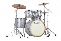 Tama Vd52krs-wsp - Silverstar 5 Futs 22/10/12/16 Sans Hardware White Sparkle