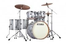 Tama Vd62rs-wsp - Silverstar 6 Futs 22/10/12/14/16 Sans Hardware White Sparkle