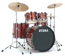 Tama Rm52kh6c-rds - Rhythm Mate 5 Futs 22/10/12/16 Avec Hardware Et Cymbales Red Stream