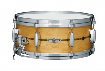 Tama Tlm146s-omp Star Solid Maple 14x6 - Oiled Natural Maple W/ Metal Insignia