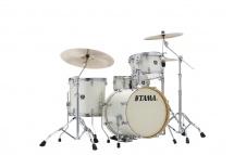 Tama Ck48s-vws - Superstar Classic (unicolor Wrap) Maple 18/12/14/14x5 Vintage White Sparkle