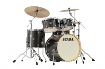 Tama Ck50rs-mgd - Superstar Classic (unicolor Wrap) Maple 20/10/12/14/14x5 Midnight Gold Sparkle