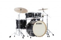 Tama Cl52krs-tpb - Superstar Classic Maple 22/10/12/16/14x6.5 Transparent Black Burst