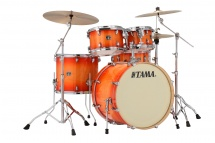 Tama Superstar Classic 22/10/12/16/14 Tangerine Lacquer Burst Cl52krs-tlb