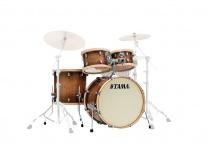 Tama S.l.p. Studio Maple 22x16 - 10x7 - 12x8 - 16x16 Gloss Sienna - Lmp42rtls-gse