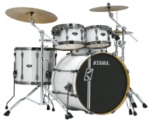 Tama Mk42hlzbns-sgw - Superstar Hyper-drive Maple 22/10/12/16 Sugar White