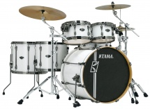Tama Mk52hlzbns-sgw - Superstar Hyper-drive Maple 22/10/12/14/16 Sugar White